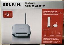 Wireless G Gaming Adapter Belkin