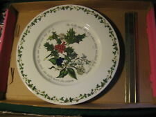Portmeirion The Holly & The Ivy Serving Plate 13.5' diameter Made in Britain