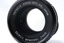 PENTAX SMC TAKUMAR 55mm F1.8 M42 Lens SN7679013