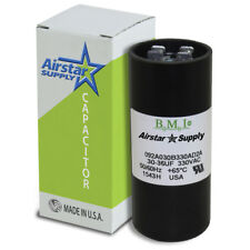 30-36 uF x 330 VAC • BMI # 092A030B330AD2A Motor Start AC Capacitor • USA