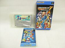 ROCKMAN 7 Megaman Item ref/033 Super Famicom Nintendo Japan Game sf