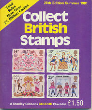 GB Collect British Stamps 1981. A Stanley Gibbons Checklist of the Stamps of GB