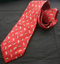 SALVADOR DALI Persistance of Memory Print Silk Necktie