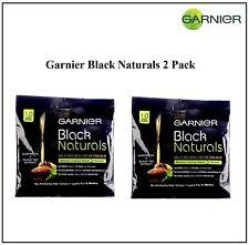 2 x Garnier Black Naturals Deep Black Oil-Enriched Cream Hair Color Ammonia Free
