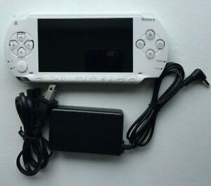 Sony PSP 1000 White PlayStation Portable + Charger - Refurbished New Shell
