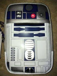 DISNEY D-Tech Star Wars R2d2 Light Up Smart Case ALL IPhone Case USA NO CHINA