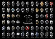 Omega Speedmaster 60th Anniversary Poster