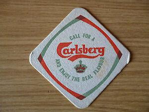 Carlsberg - 1960's / 1970's beer mat