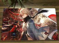 Fate/Grand Order Anime Playmat Okita Souji TCG CCG Mat Yugioh Game Play Mat +Bag