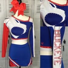 "Real Cheerleading Uniform  Adult Top 32-34"" Skirt 26-30"""