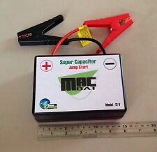 Car Jump Start Macbat Super Capacitor 50F 12V Sub Zero Car Battery Booster 160A