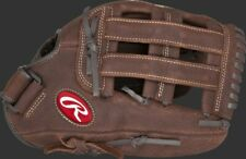 Player Preferred ~ 13 Inch Rawlings Adult Brown Leather Baseball Glove ~ New!