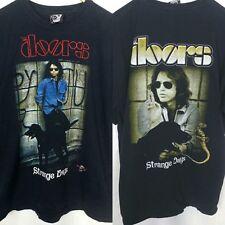 VTG The Doors Strange Days T-Shirt Jim Morrison Rock Rap Tee 90s XL Embroidered