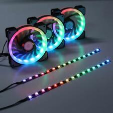 RGB LED 120mm Case Fan RF Controller for PC Cases, Color Case, Radiators System