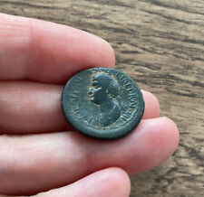 More details for roman. domitian and domitia (married to domitian, 70 a.d) bronze coin. scarce.