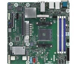 Asrock 245260 Mb X570d4u-2l2t Amd Ryzen Max128gb Ddr4 Pcie Uatx Retail
