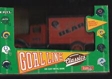 CHICAGO BEARS DIE CAST METAL COIN BANK TRUCK NEW IN BOX TEAM NFL 1993 ERTL