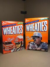 1997 And 1998 Dale Earnhardt Wheaties Cereal Boxes. NASCAR