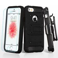 Carcasas Para iPhone SE color principal negro para teléfonos móviles y PDAs