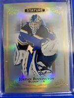 2019-20 Upper Deck Stature #63 Jordan Binnington St Louis Blues