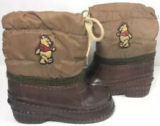 Winnie The Pooh Snow Boots Walt Disney Sears Waterproof 6M Vintage 1977 Usa Lace