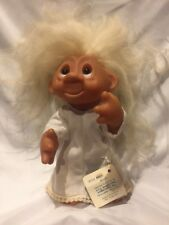 "Vintage Rare 1965 Scandia House 6"" Bride Troll Doll w/ Hang Tag Dam All Original"