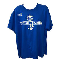 New listing Dallas Mavericks NBA Basketball Men's T Shirt 3XL Conference Finals Time Is Now