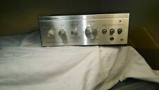 Realistic SA-102 Stereo Amplifier - Working
