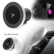 Qi Wireless Magnetic Charger Car Phone Holder Air Vent Mount for iPhone Samsung