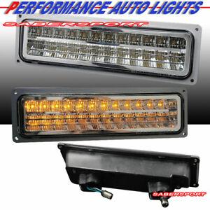 "88-99 GMC CHEVY C10 C/K FULL SIZE TRUCK SUV ""L.E.D."" LED PARKING SIGNAL LIGHTS"