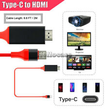 For Samsung Galaxy S8 S9+ Note 10 S10 Plus 4K Type C To HDMI AV TV Cable Adapter