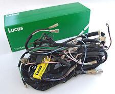 Original Lucas principal arnés de cableado Telar Triumph Pre Unidad T120 TR6 1960-62 Mag/Alt