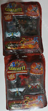 GORMITI - INVINCIBLE LORDS OF NATURE - 1ST SERIES(X2) - B - NEW/SEALED FREE P&P