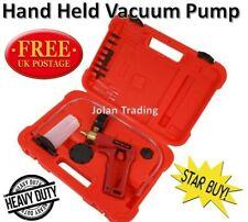 Hand Held Brake Bleeder Tester Set Bleed Kit Vacuum Pump Car & Motorbike 2311
