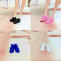 Original 4 pair Doll Shoes Fashion Cute shoes for  Doll shoes 1/6 A Fy