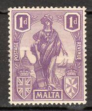 Malta - 1922 Definitive Melita - Mi. 85 MH
