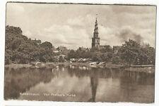 Denmark - Copenhagen, Vor Frelsers Kirke - vintage postcard