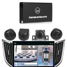 Car Parking Panoramic View Rearview Camera System 360 Degree View w/4 Camera