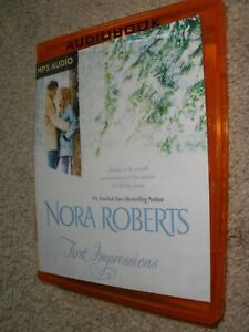 First Impressions - MP3 CD By Nora Roberts.