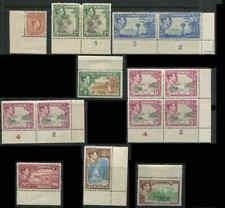 Jamaica GVI Scott# 118 119a 121 122 123a 124 125 126  CV $50.25