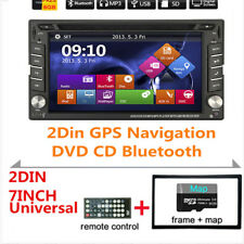 6.2inch 2Din Car Stereo GPS Navigation System DVD Player Bluetooth iPod GPS