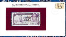Banknotes of All Nations Gambia 1971 1 Dalasi UNC P4f Prefix T