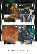 Visions of Earth From Space 4v Stamp Sheet (2015 Montserrat / Satellite Imagery)