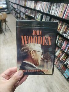 Day of Discovery: John Wooden - They Called Him Coach (DVD, 2013) *NEW SEALED*
