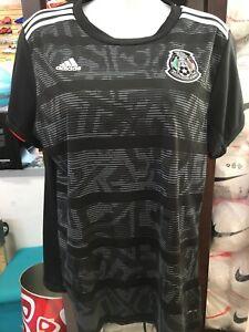Adidas Mexico  Women's Black Soccer Jersey Playera De Dama 20/21 Size MediumOnly
