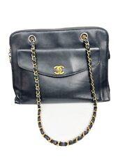 Vintage Chanel Caviar Leather Shoul