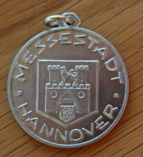 Altes Abzeichen Allu - Medaille Export Messe Messestadt Hannover 1947 - 1987