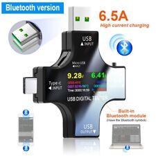 Usb Type C Tester Digital Voltmeter Ammeter Voltage Amperemeter Meter Detector