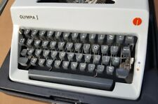 Olympia Sm8 Typewriter 1970s In Hard Case. One of two available.