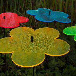 10, 20, 50 Stück SUNPLAY Sonnenfänger Ø5cm Suncatcher Gartenstecker Blumen